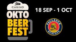 Casino Cirsa Valencia celebra el OktoBEERrfest, la gran fiesta de la cerveza