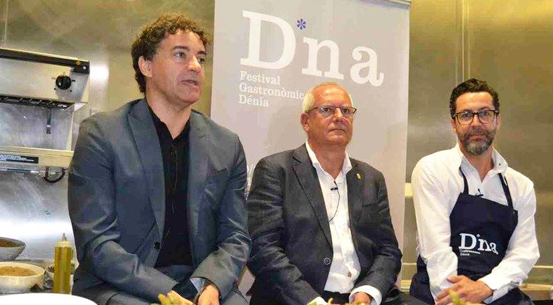 RECONOCIDOS CHEFS DE LA COMUNIDAD VALENCIANA PARTICIPAN EN EL D*NA FESTIVAL GASTRONÓMICO DE DÉNIA