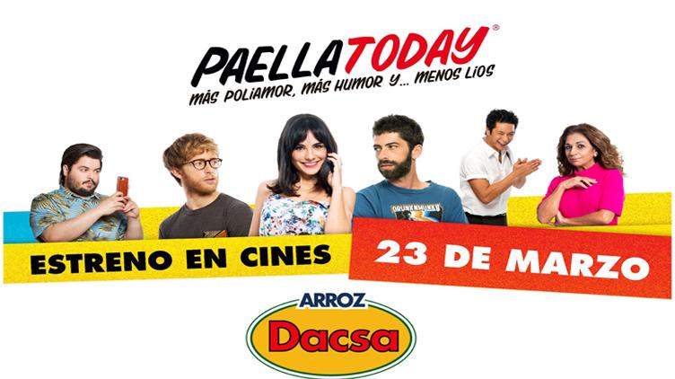 DACSA CREA LAS PRIMERAS PALOMITAS CON SABOR A PAELLA