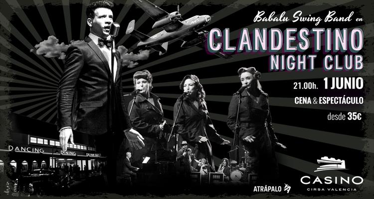 ¿QUÉ HACEMOS ESTE FINDE? CLANDESTINO NIGHT CLUB, CLÒTXINA FEST Y CONCIERTOS EN LA MARINA