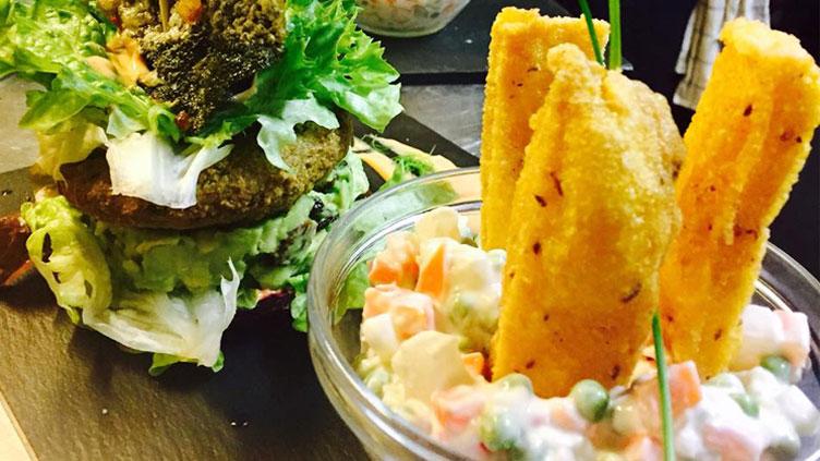 Restaurante vegetariano KIMPIRA