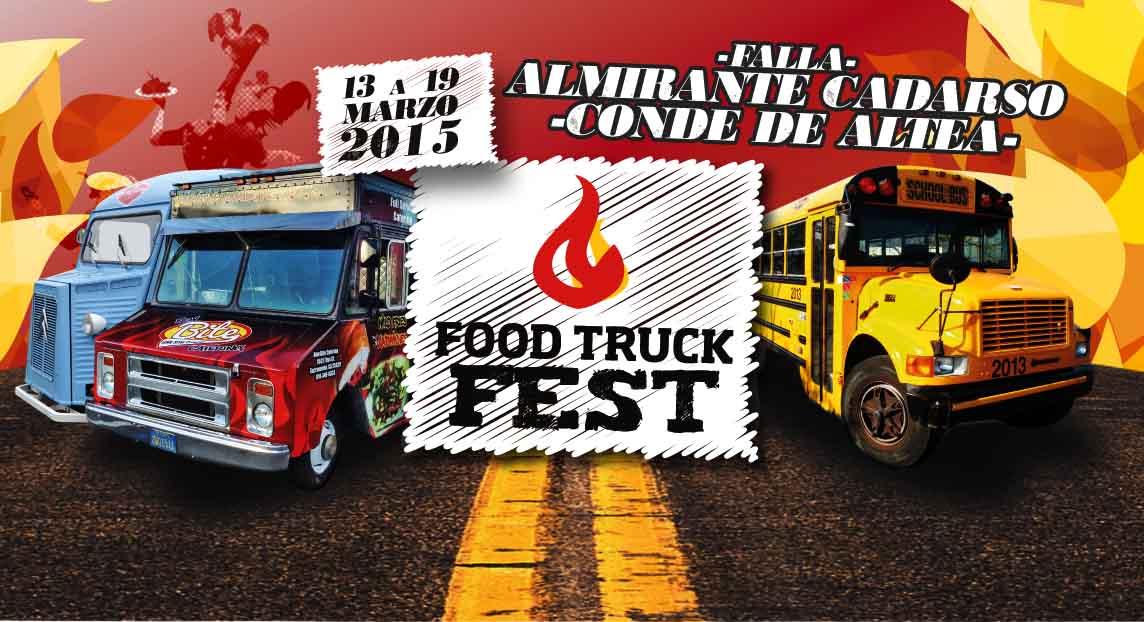 FOOD TRUCK FEST - El 1º Street food de Fallas