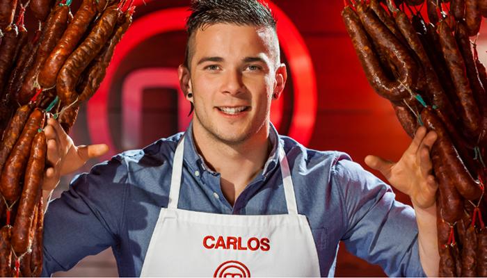 Carlos y su reinterpretación del bocadillo de calamares, ganador de Masterchef