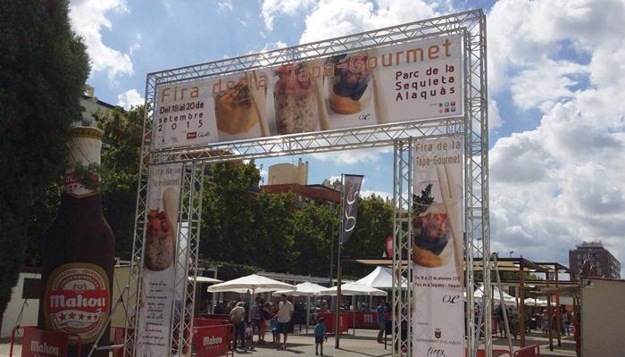 Gastroagencia jurado en la Feria de la Tapa Gourmet 2015