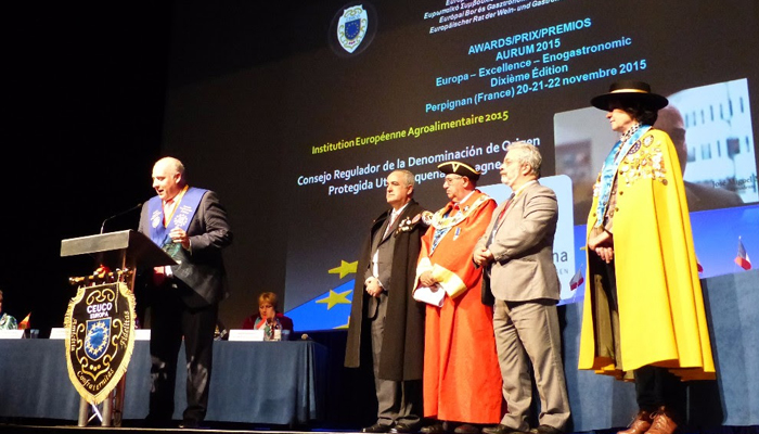 Utiel-Requena recibe el Premio Aurum Europa Excellence