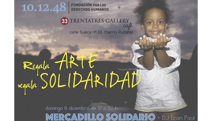 MERCADILLO DE ARTE SOLIDARIO
