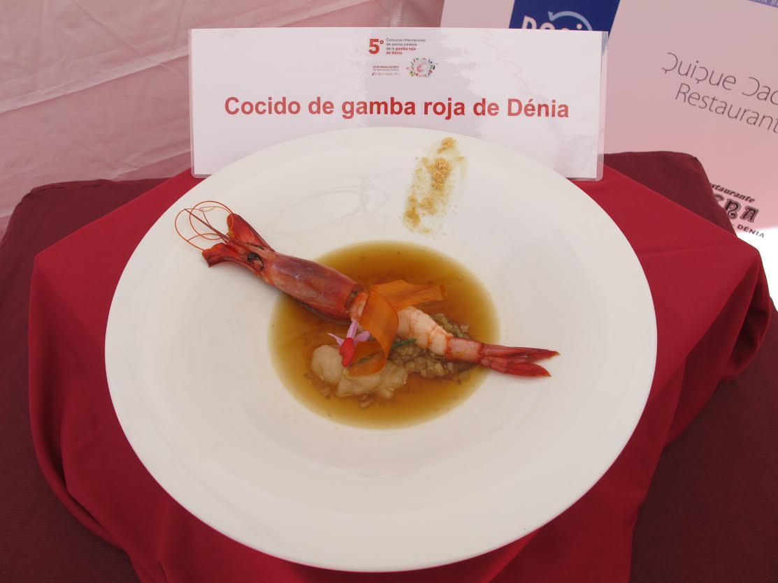 El chef Álvaro Abad gana el 5º Concurso Internacional de Cocina Creativa de la gamba roja de Dénia