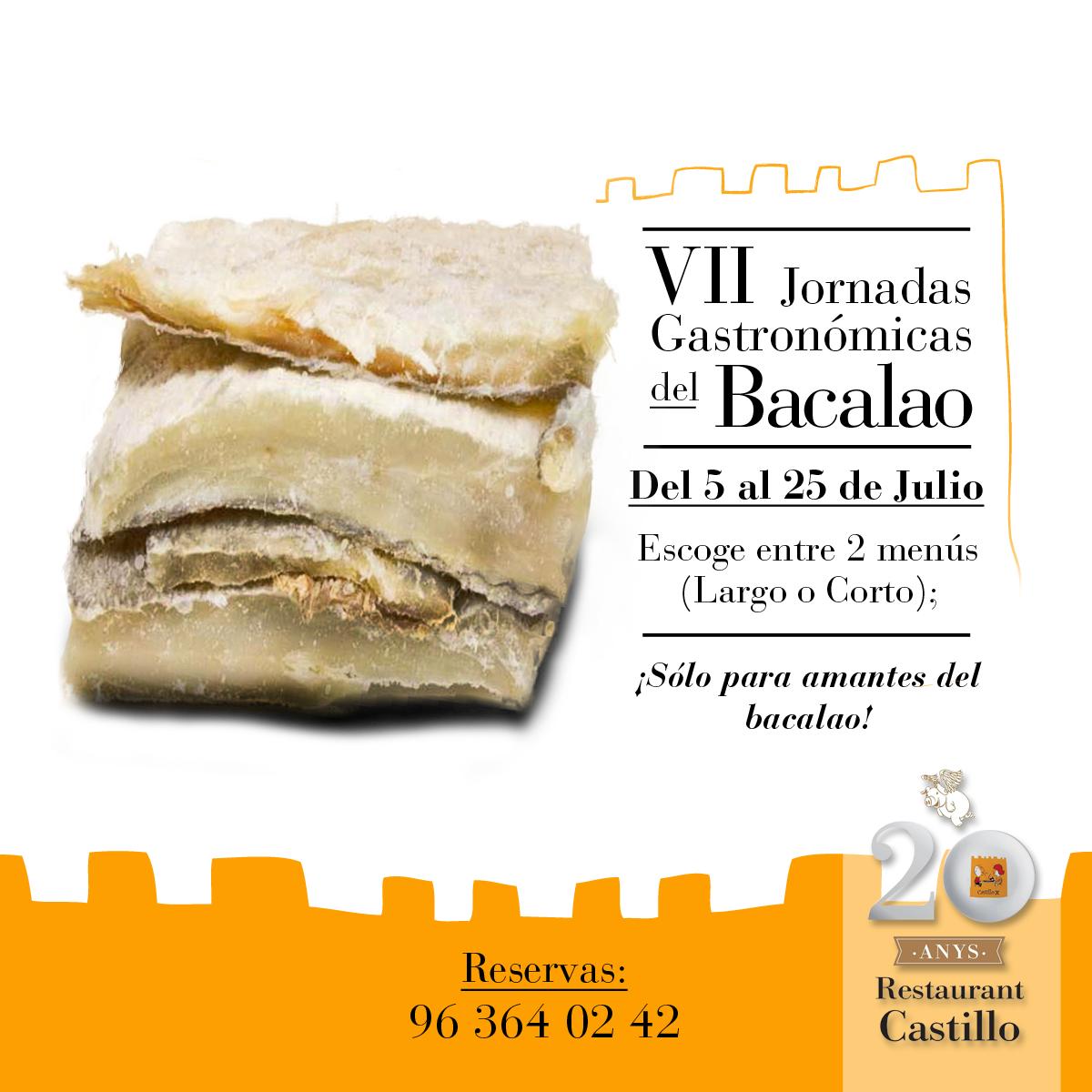 Jornadas gastronómicas del Bacalao en Restaurante Castillo