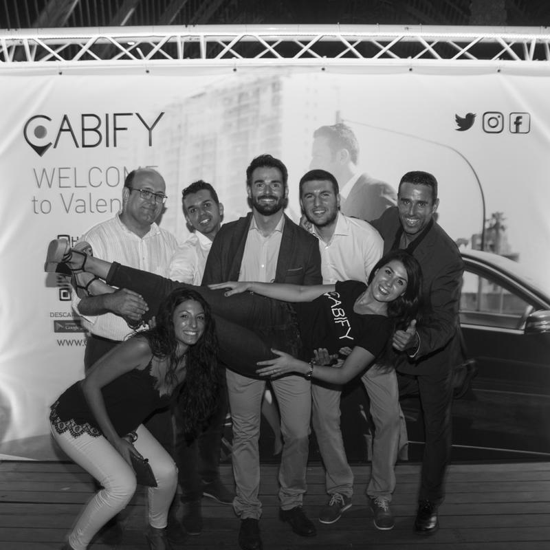 Cabify y su gran fiesta de presentación en Valencia
