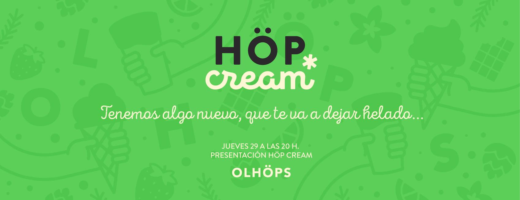 Höp Cream y otra forma de disfrutar de la cerveza