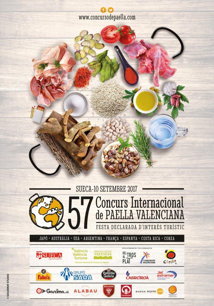 Todo listo para la 57a edición del Concurs Internacional de Paella Valenciana de Sueca