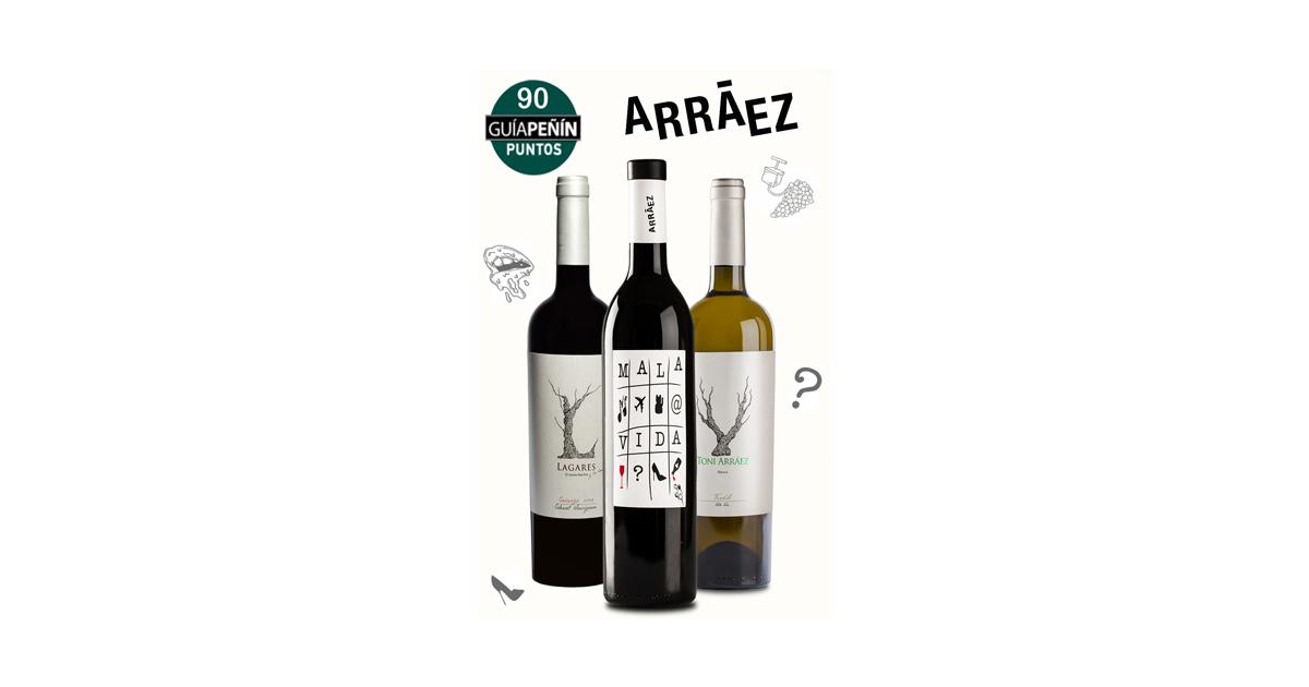 Peñín y Proava premian a los vinos de Arráez