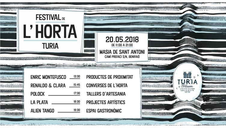 """CERVEZA TURIA CELEBRA UNA NUEVA EDICIÓN DEL """"FESTIVAL DE L'HORTA TURIA"""""""
