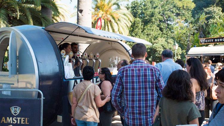 LOS FOOD TRUCKS DE AMSTEL VALENCIA MARKET REGRESAN AL CAUCE DEL TÚRIA