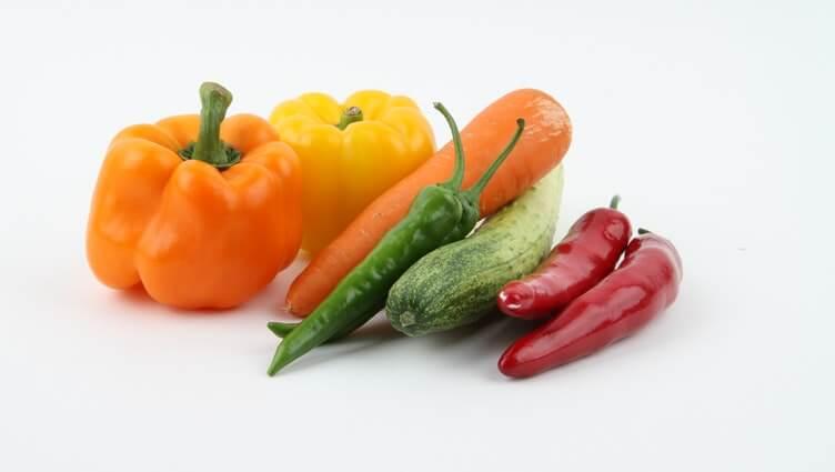 verduras y hortalizas de temporada