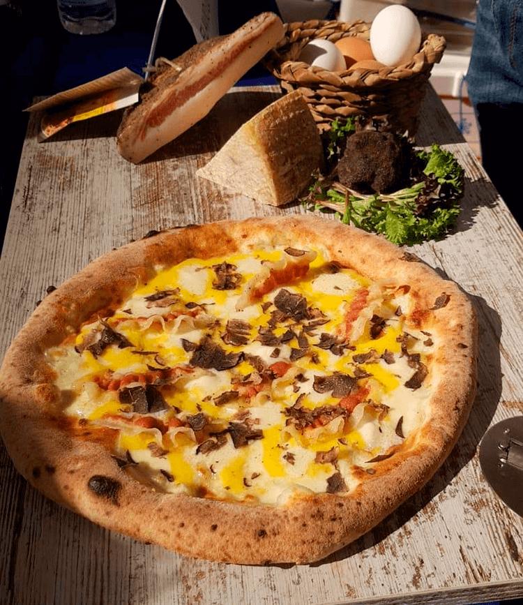 Pizza Cinco Texturas