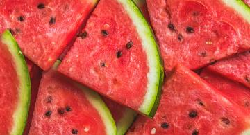 La sandía, la fruta del verano