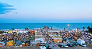 Solmarket amplía hasta el 25 de agosto su oferta gastronómica y de ocio familiar en la playa de El Puig tras el éxito de público